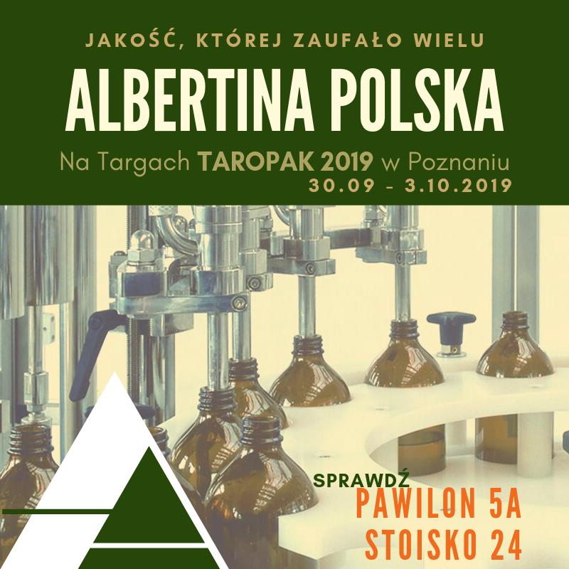 Zapraszamy na Targi Taropak 30.09 - 03.10 2019 w Poznainiu